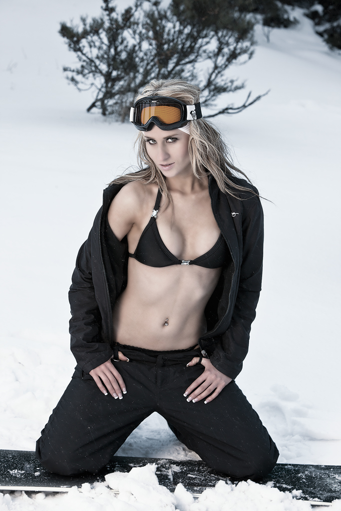 Ally's Snow Shoot