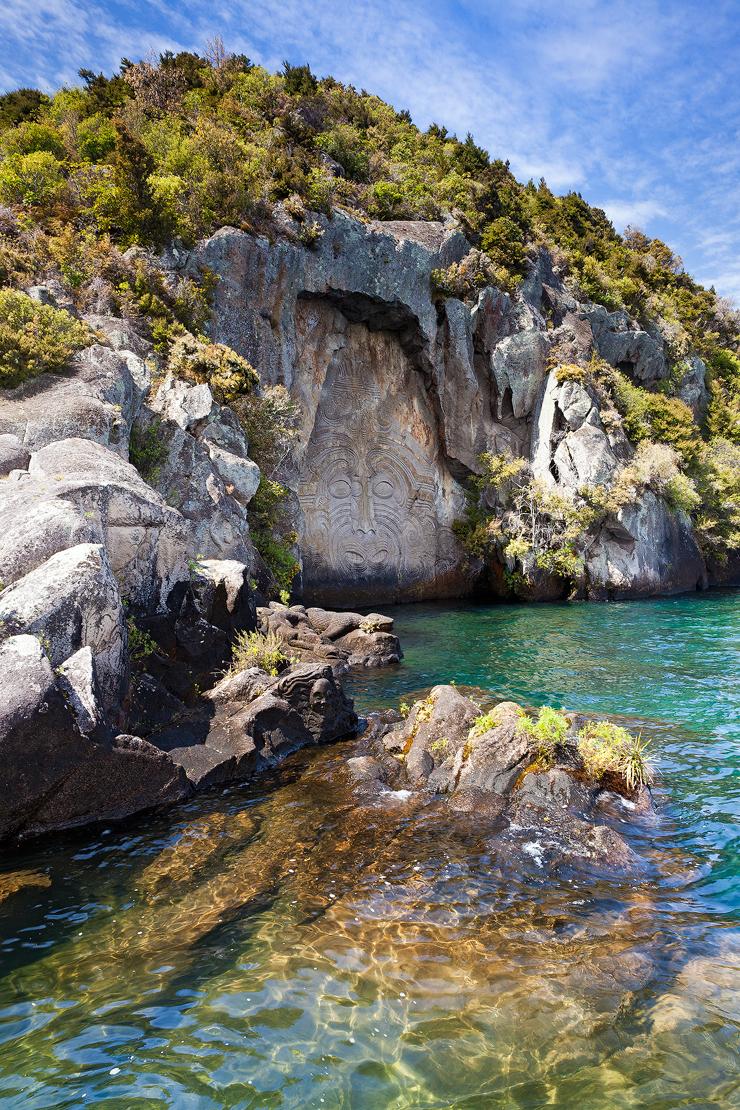 Lake Taupo Maori Carving