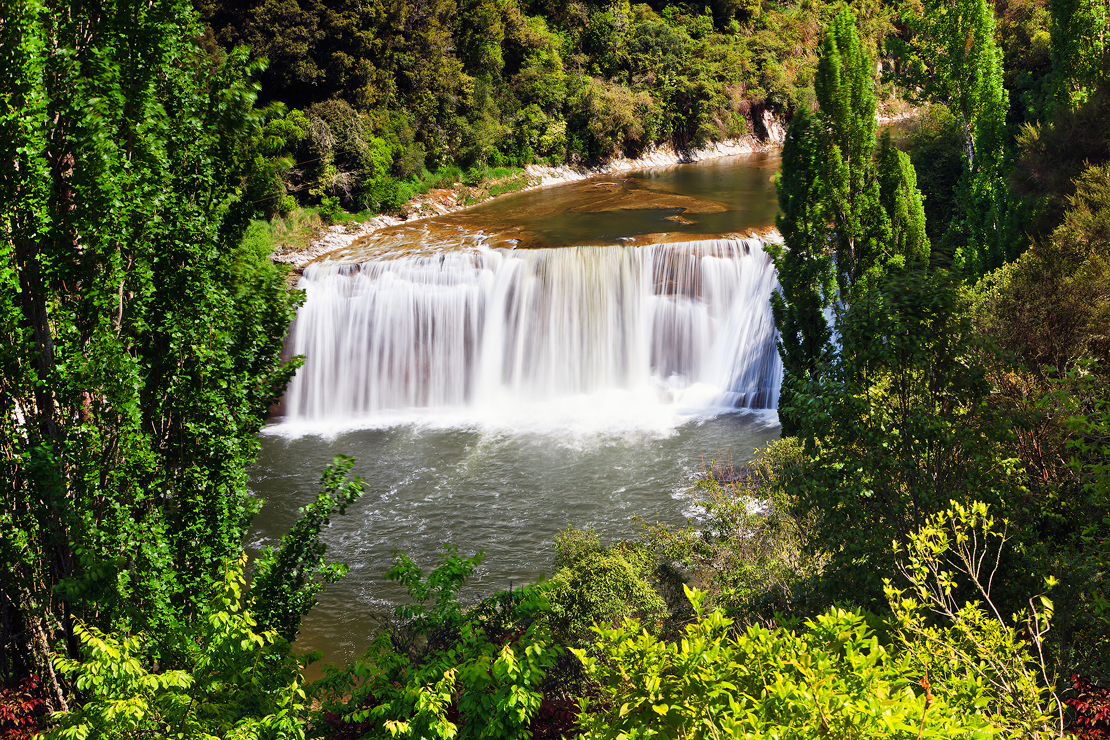 Raukawa Falls New Zealand