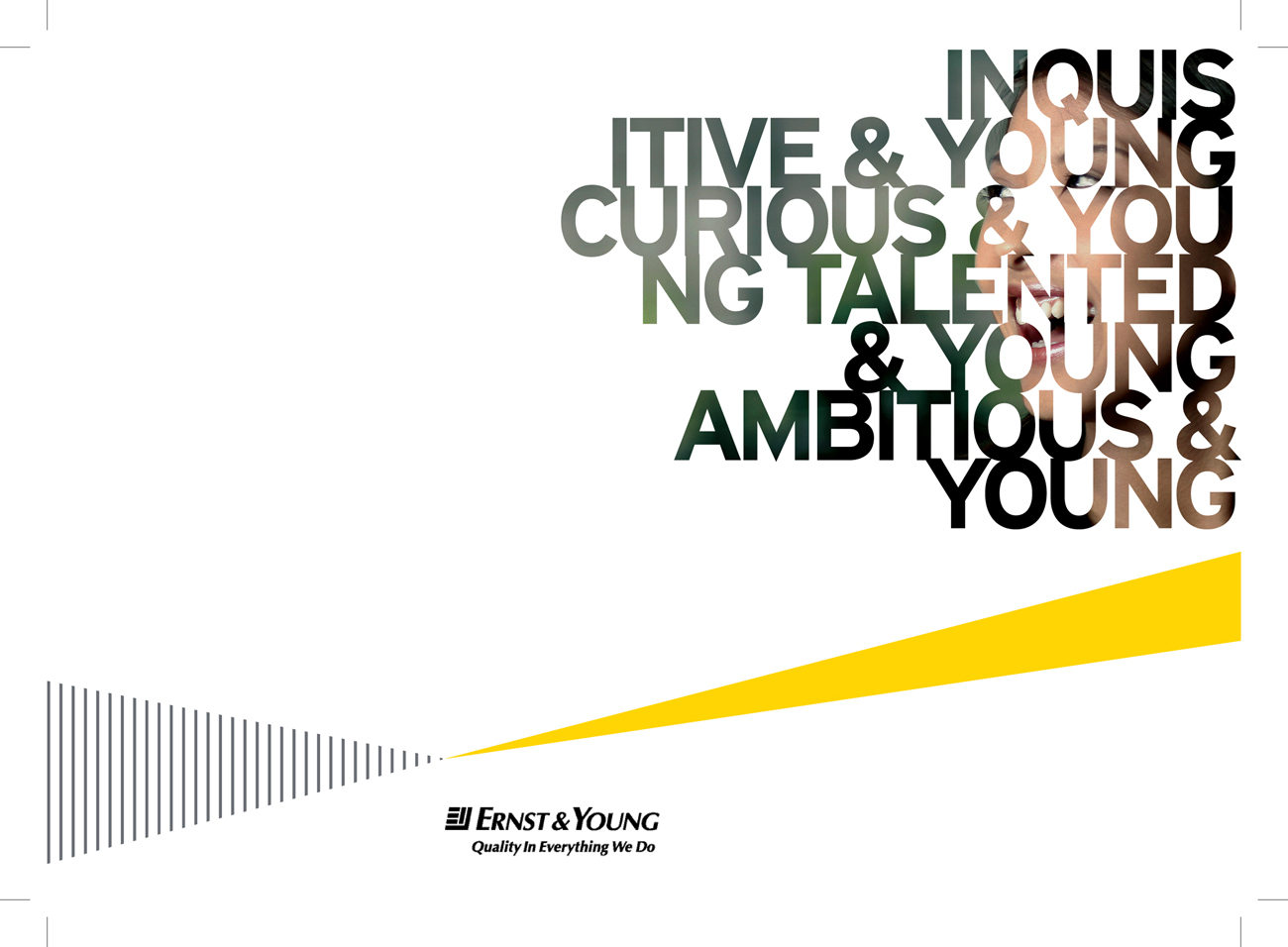 Corporate Shots for Ernst & Young. Creative by Blaze Advertising