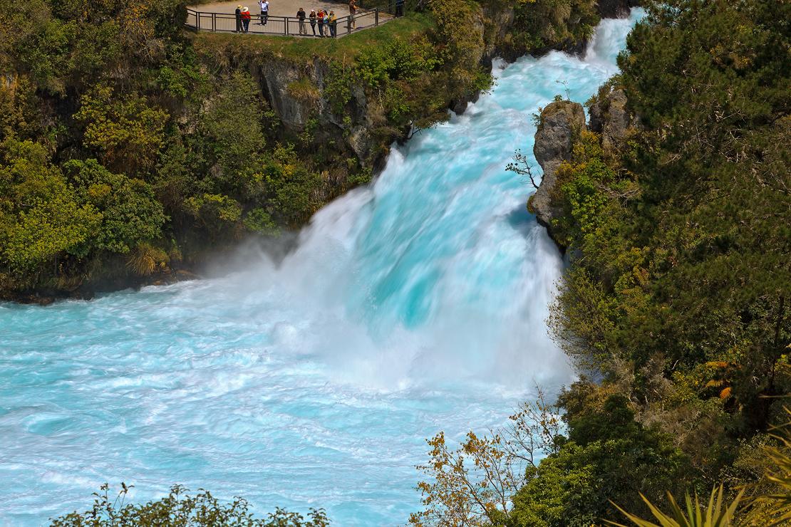 Huka Falls New Zeland