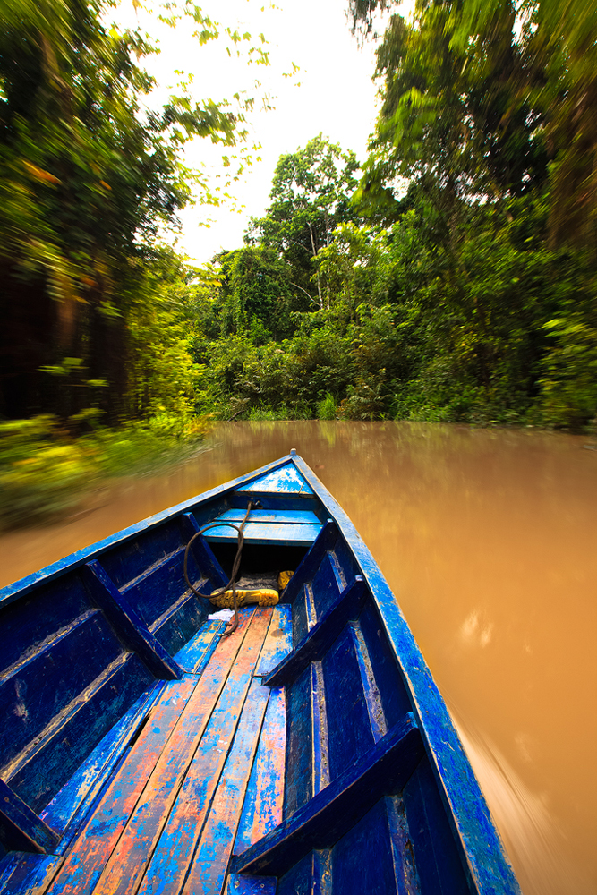 Boating in The Amazon