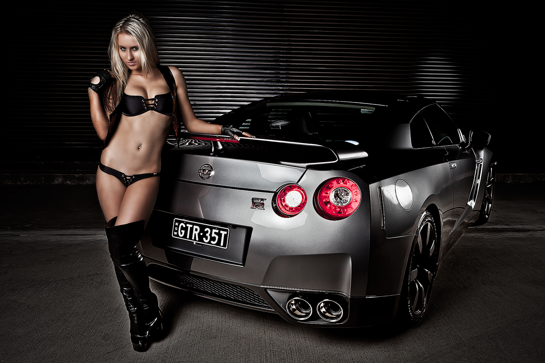 Ally and Nissan GT-R